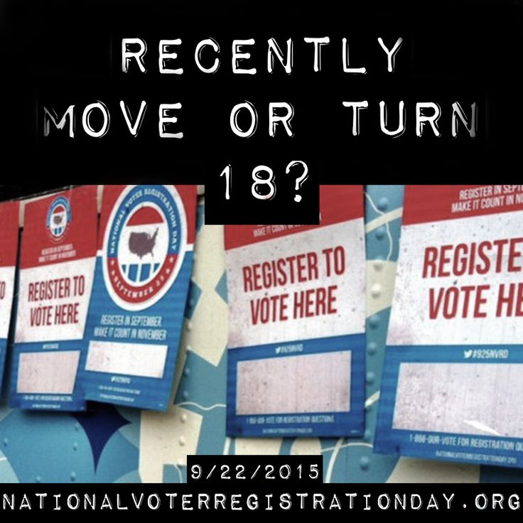 In 2008, 6 million Americans didn't vote because they missed a registration deadline or didn't know how to register. In 2015, we want to make sure no one is left out.  Join millions of voters during this year's midterm elections. Celebrate National Voter Registration Day and register to vote!