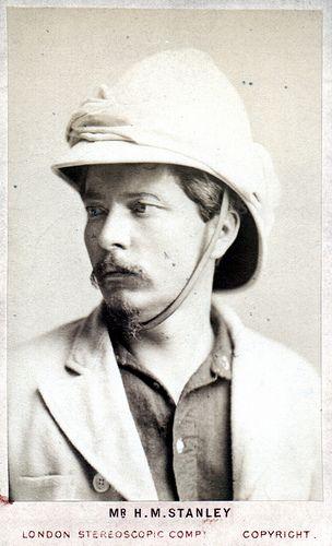"""Henry Morton Stanley: Explored Africa, sought David Livingstone, """"Dr. Livingstone, I presume?"""" #140travellers"""