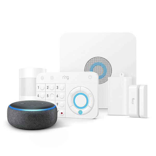 Works With Alexa Smart Home Alarm System Home Security Systems Home Security