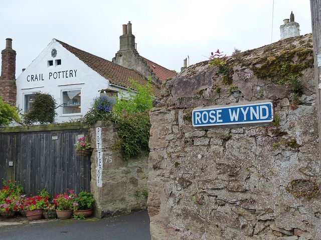 rose wynd crail and crail pottery