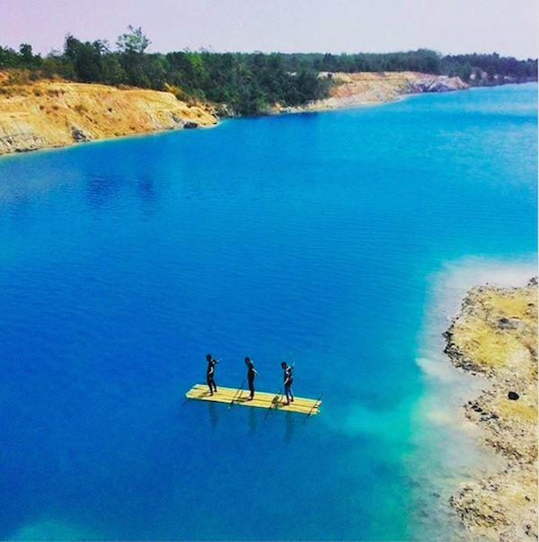 danau biru - binuang (central java)