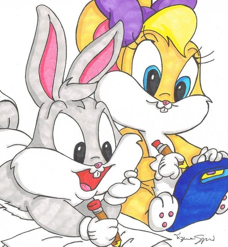 Looney tunes lola bunny words