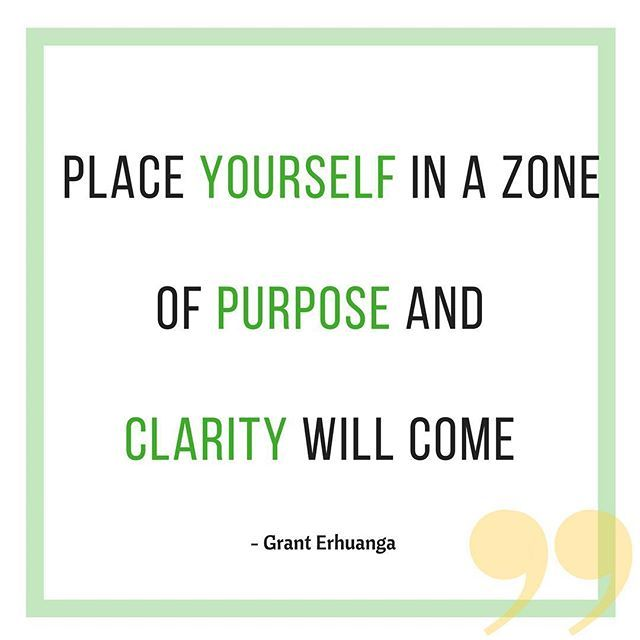 """Purpose is one of the essential reasons why we live as humans. We all want to have a sense of accomplishment and clarity so we can have something to look forward to each day. Place yourself where there's growth and remove yourself where the wilderness lies. #real #alive #entrepreneurship #future #experience #determination #entrepreneurlifestyle #entrepreneurs #being #startups #femaleentrepreneur #womenentrepreneurs #impact #now #authentic #authenticity #coach #digitalmarketing…"