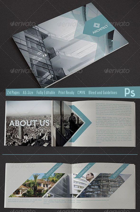Welcome Brochure - Architect Branding, Publication, Brochure Design