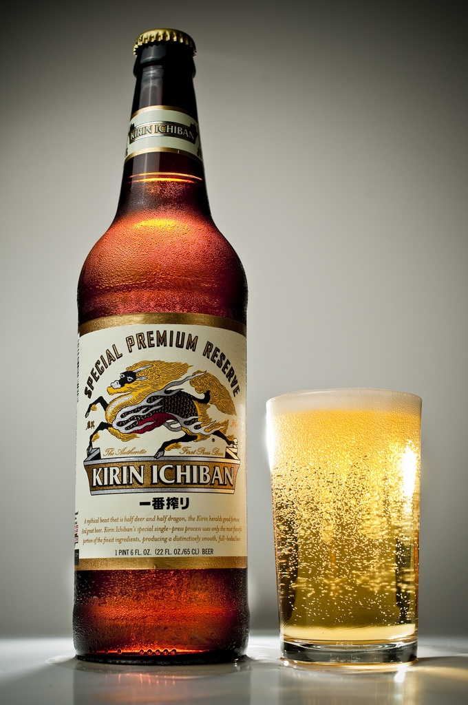 Kirin Ichiban - American lagers can't even touch it