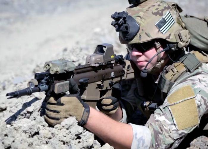 ASGI 2012 US Army Ranger Impression