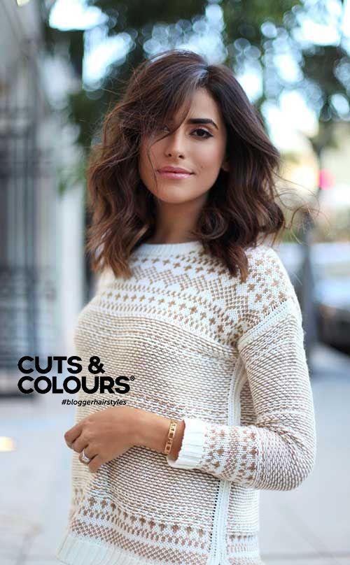 Brunette | Halflang haar | CUTS & COLOURS