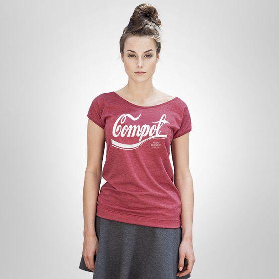 COMPOT - damski t-shirt CHRUM - polscy projektanci / polish fashion designers - ELSKA