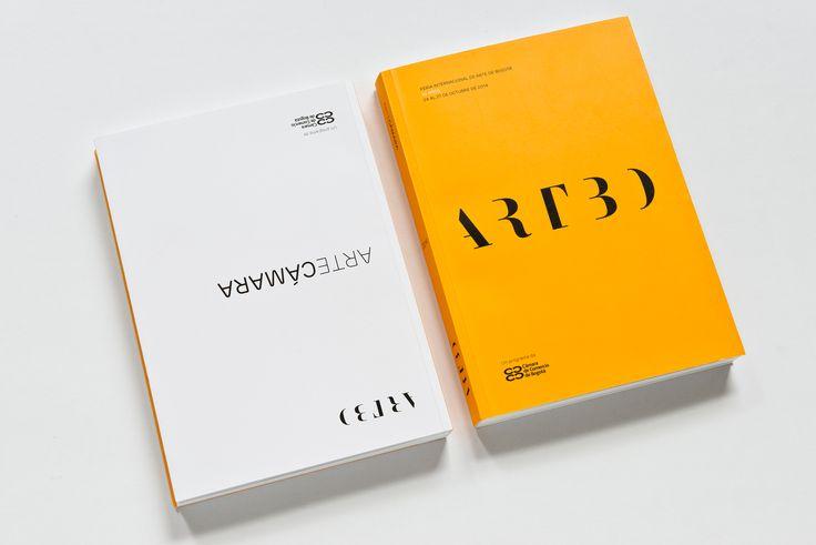 Identidad visual para ARTBO, Feria Internacional de Arte de Bogotá (2014-2015). Este proyecto incluyó el desarrollo del logotipo, piezas gráficas y publicitarias, diseño y diagramación del catálogo y la plantilla de diseño para la página web.