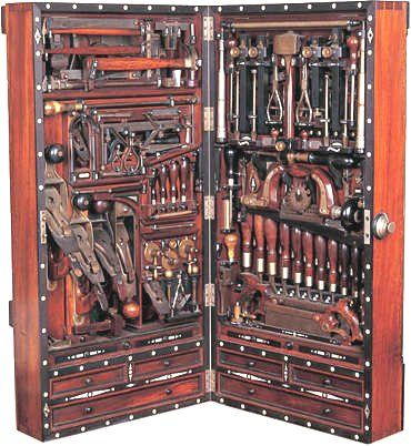 H. O. Studley Masonic Tool Chest
