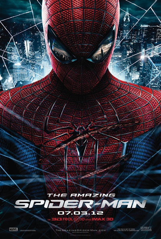 July 7 - The Amazing Spider-Man is the story of Peter Parker (Garfield), an outcast high schooler who was abandoned by his parents as a boy, leaving him to be raised by his Uncle Ben (Sheen) and Aunt May (Field). Like most teenagers, Peter is trying to figure out who he is and how he got to be the person he is today.