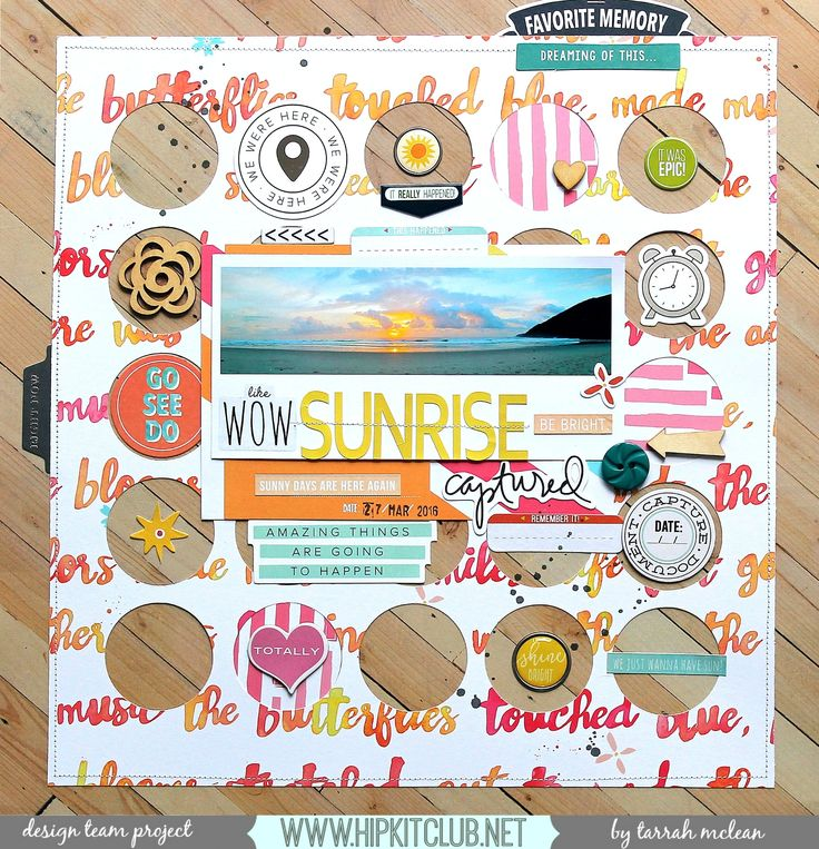 853 best scrapbook layouts 14 images on pinterest scrapbook design team layout for hip kit club using the june 2016 main and add on kits pronofoot35fo Image collections