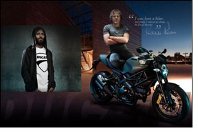 Diesel Style Team to launch Ducati Monster clothing line