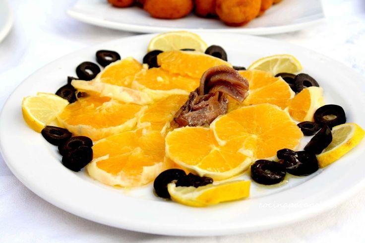 Cocina para pobres: Ensalada de Palermo y productos Maheso