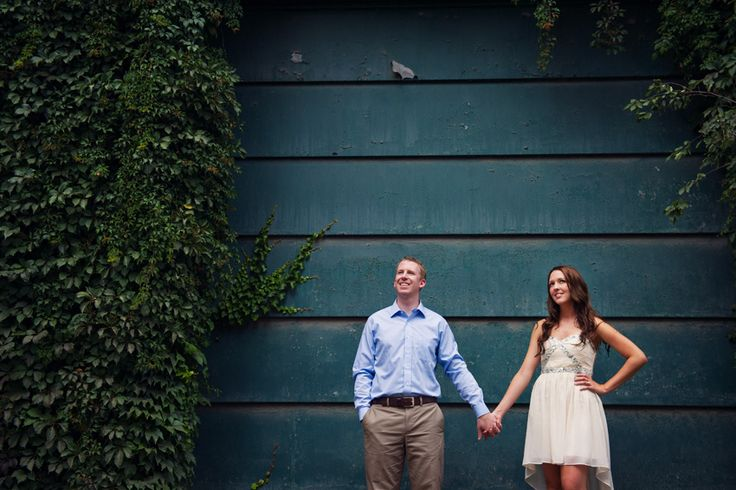 Polson Pier & Distillery District Engagement Photography