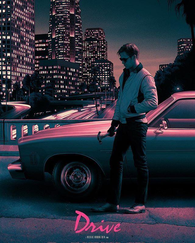 DRIVE Poster by Rory Kurtz