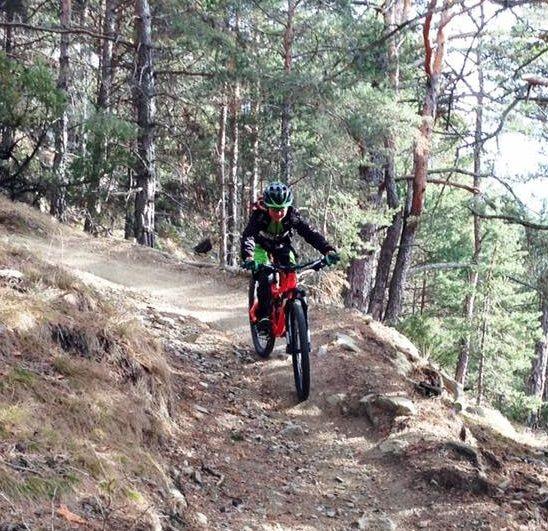 Bike Urlaub im Vinschgau / Südtirol bei Latsch im Hotel Montani