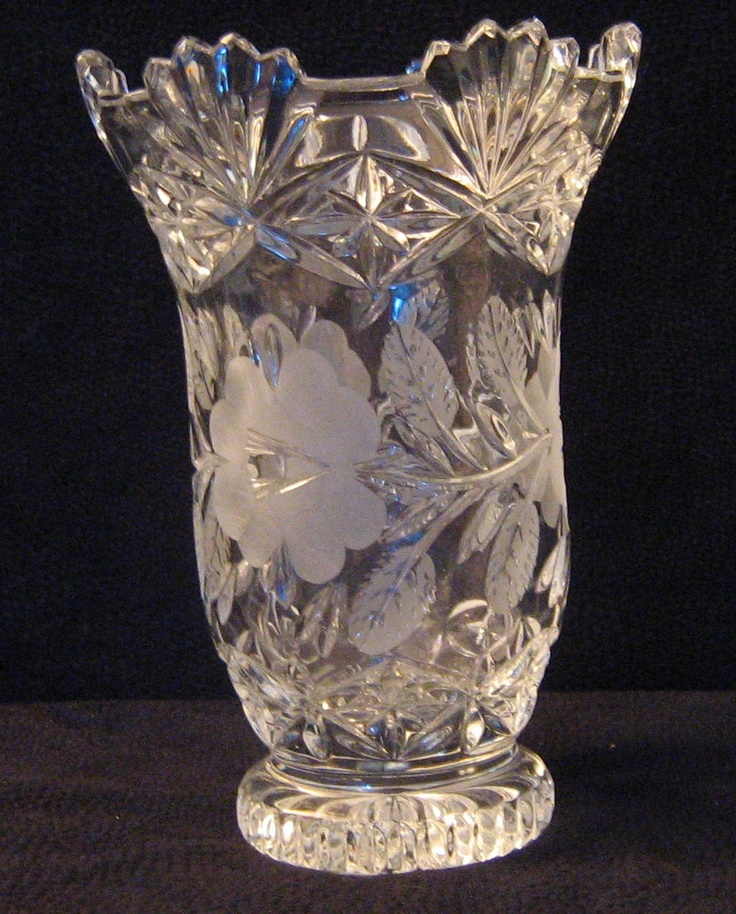 149 Best Crystal Images On Pinterest Crystals Antique Glass