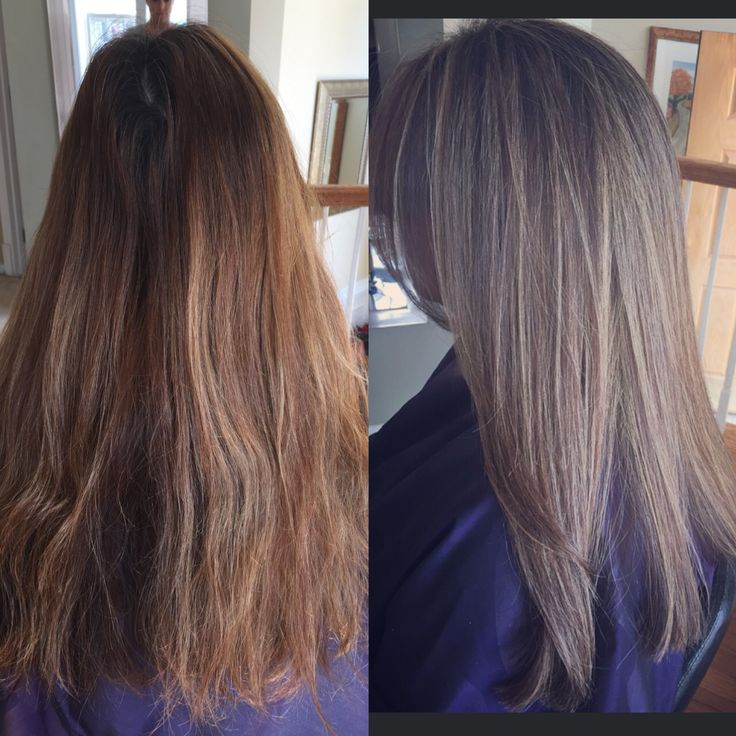 How Achieve Light Ash Brown Hair