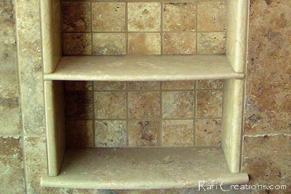 recessed shelf bathroom ideas pinterest. Black Bedroom Furniture Sets. Home Design Ideas