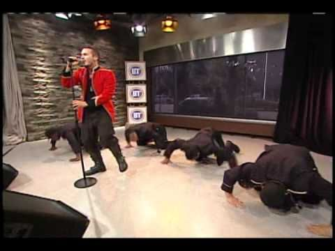Shawn Desman - Night Like This - Live on BT