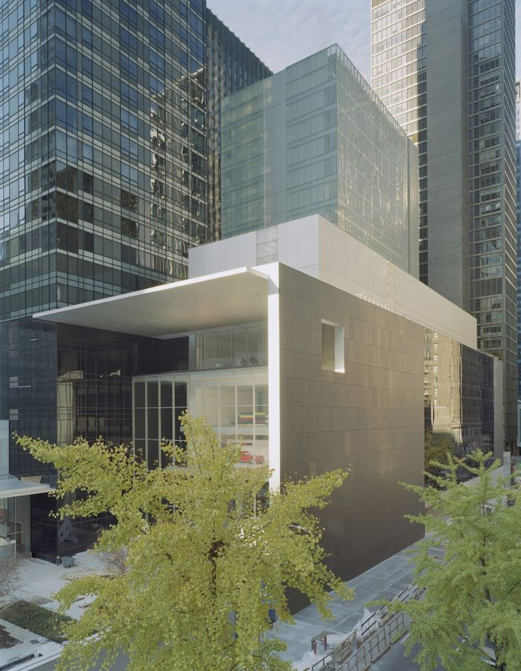 AD Classics: The Museum of Modern Art / architect Yoshio Taniguchi