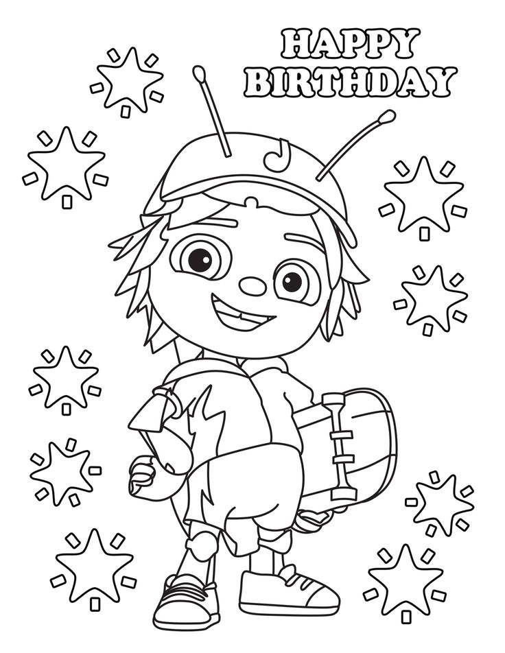 509 best Kids themed coloring sheets images on Pinterest | Birthday ...