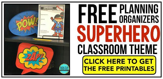 photograph regarding Free Printable Classroom Decorations identify Superheroes Themed Clroom - Recommendations Printable Clroom