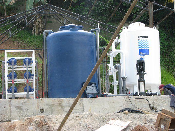 Project Insatalasi Filter Air seperti terlihat pada gambar diatas dilakukan di Universitas Malahayati dan Rumah sakit Bintang Amin Husada, Tanjung Karang-Bandar Lampung. Proses pengerjaannya memakan waktu sekitar 1 minggu.