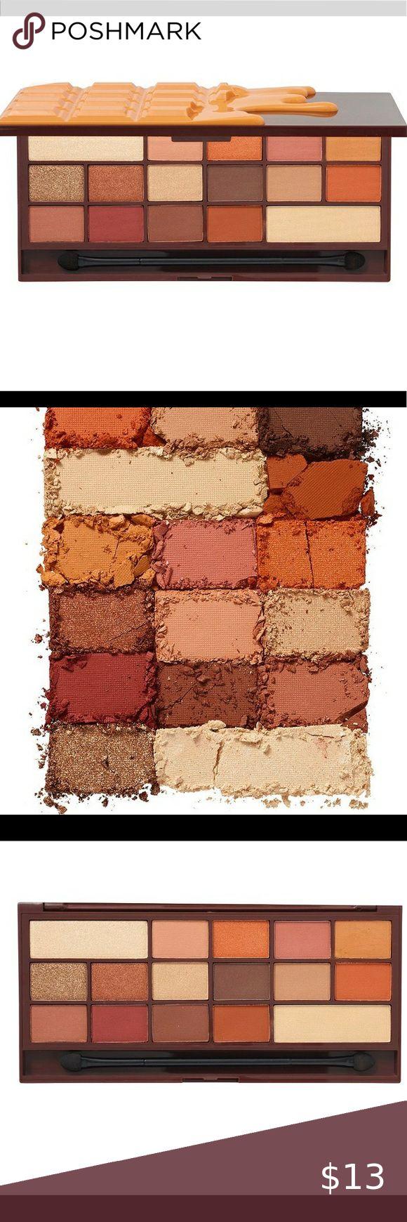 Chocolate Orange Eyeshadow Pallete Used once. Ulta