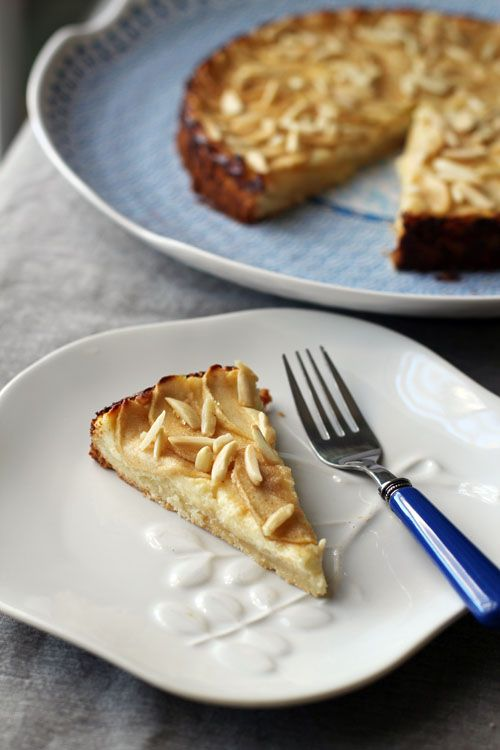 apple bavarian torte from @janemaynard #apple #dessert #bavarian