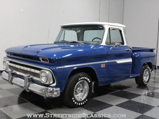 AutoTrader Classics - 1966 Chevrolet C10 Truck Blue 8 Cylinder Manual Other   Classic Trucks   Lithia Springs, GA