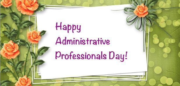 Thank You Quotes For Administrative Professionals Day: Administrative Professionals Day Car Photo