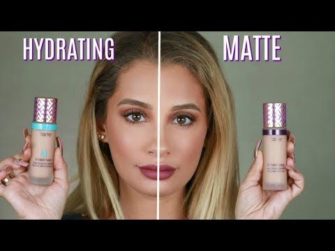 TARTE COSMETICS SHAPE TAPE FOUNDATION REVIEW - YouTube