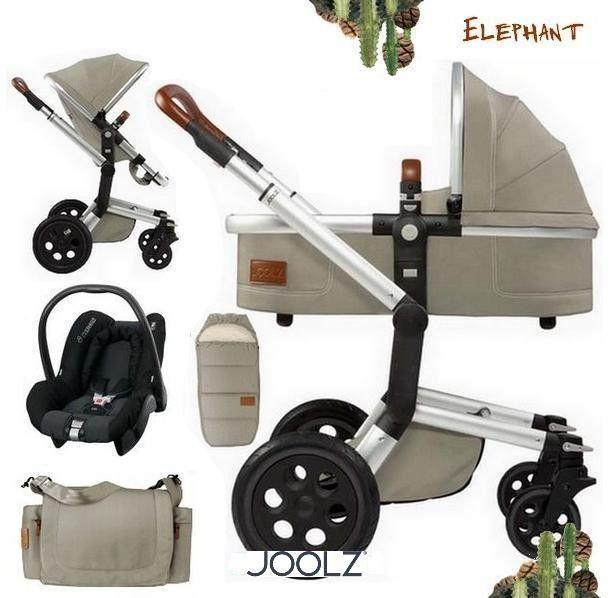 Joolz Day Earth Edition Elephant Grijs Kinderwagen Reiswieg Autostoel Bebeqo(NL)
