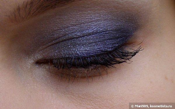 Ровно в полночь- Givenchy Le Prisme Yeux Quatour Eyeshadow Quartet–Тени для век-квартет Живанши, оттенок №72 Midnight Look