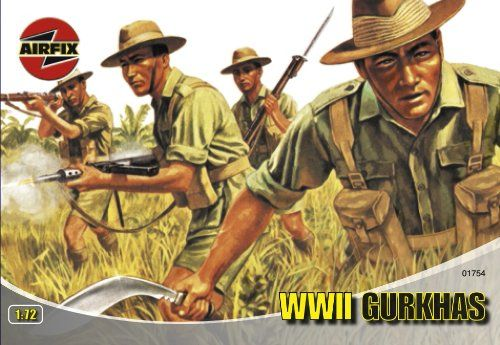 #PopularKidsToys Just Added In New Toys In Store!Read The Full Description & Reviews Here - Airfix A01754 Gurkhas 1:72 Scale Series 1 Plastic Figures - Recruited from Nepal, the Gurkha units of the British Army fought in the Middle East, Europe, the Mediterranean and against the Japanese in the Far East. . Specification: Model Scale 1:72 Number of Parts 48 Skill Level 1 Flying Hours 1 Requires Painting Yes Age 8+ Airfix World War 2 Gurkhas Plastic Model Kit – 1:72 Scale