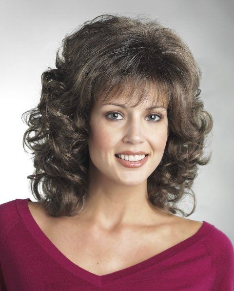 Curly Hair Square Face: Medium Length Hair For Square Faces For Women Over 50