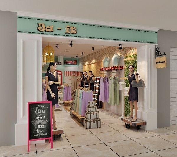 Ja-It boutique store on Behance