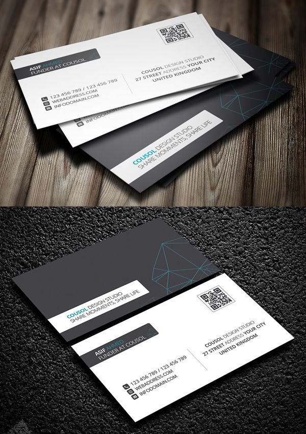 Professional Business Card Templates 30 Print Design Design Graphic Design Junction Business Cards Creative Business Card Graphic Cool Business Cards