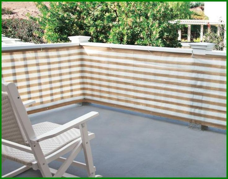 185 best images about deck on pinterest pvc pipes drop for Balcony privacy solutions
