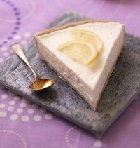 Tarte au citron façon cheesecake