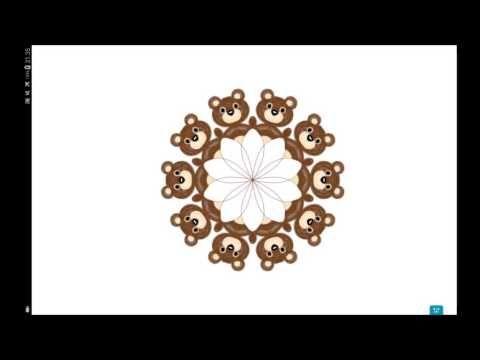 Kymmenen karhua – Mandalavideo – ELINAP