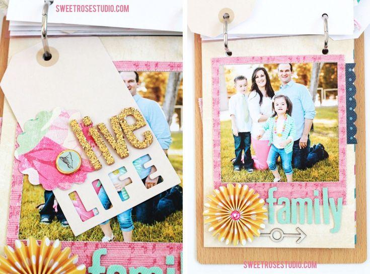 Family Photo Flip Book