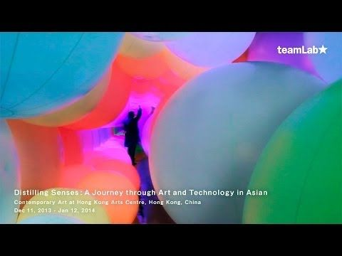 teamLab: Homogenizing & Transforming World |