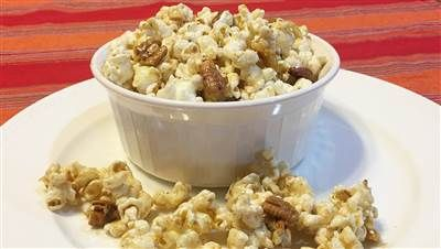 Joy Bauer's baklava popcorn is a sweet low-calorie treat/cina carbo