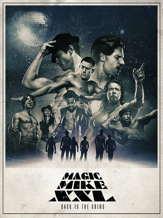 Star Wars Inspired Magic Mike XXL Poster