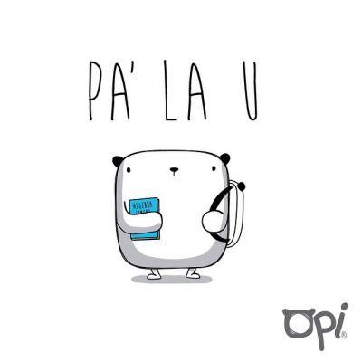 Cúal carrera creen que estudia OPI #cute #kawaii #bear #illustration…