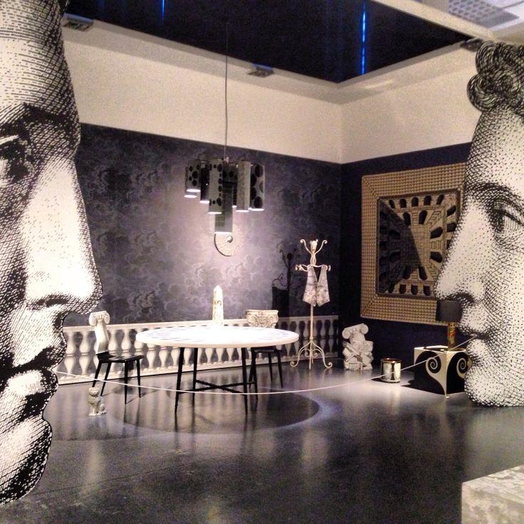 Piero Fornasetti, exhibition at Triennale, Milano