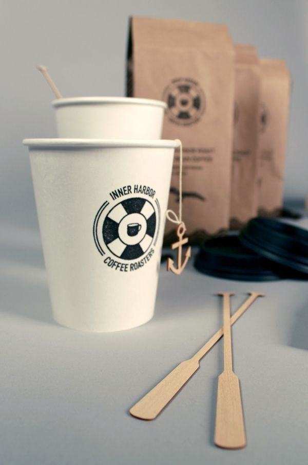 Inner Harbor coffee packaging PD by etta